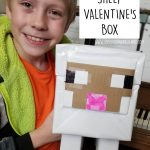 Minecraft Sheep Valentine's Box