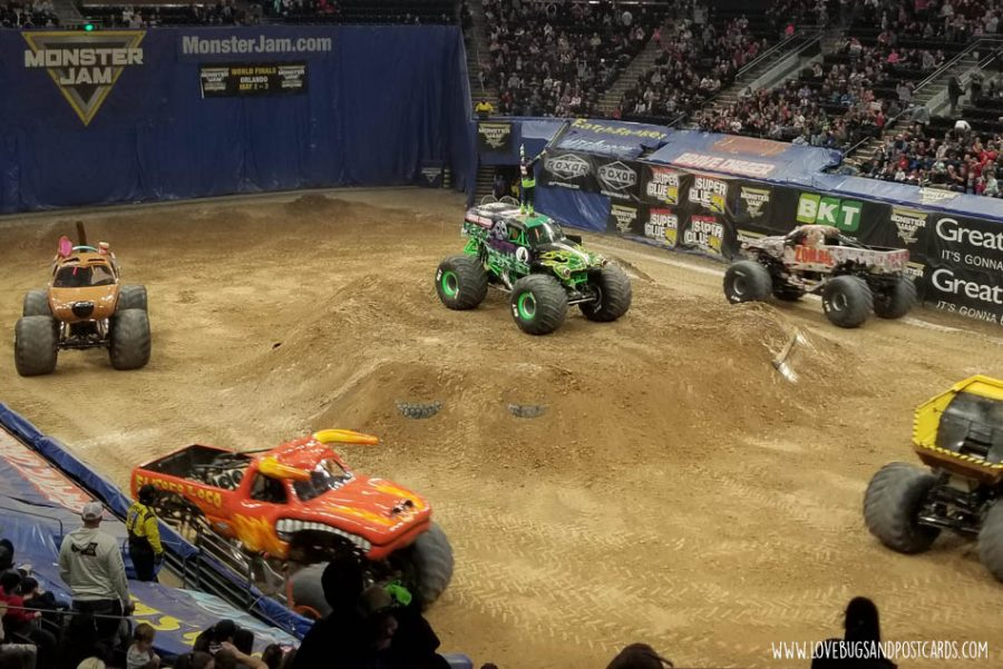 Monster Jam 2020 in Salt Lake City, Utah