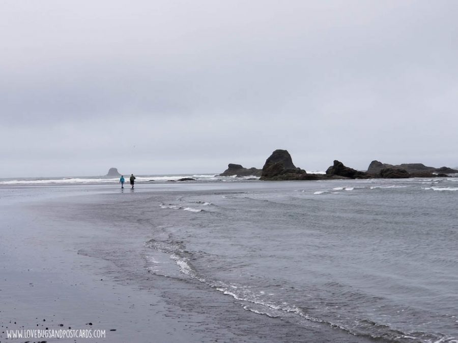 Ruby Beach in Washington