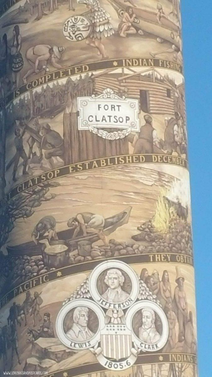 Astoria Column in Oregon