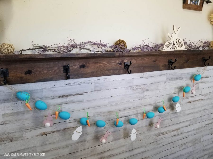 Farmhouse Easter Garland