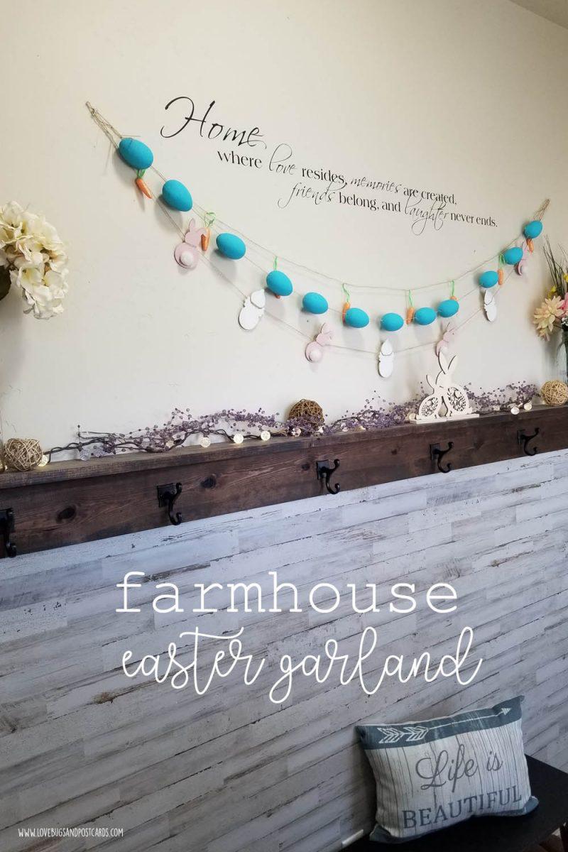 Farmhouse Easter Garland