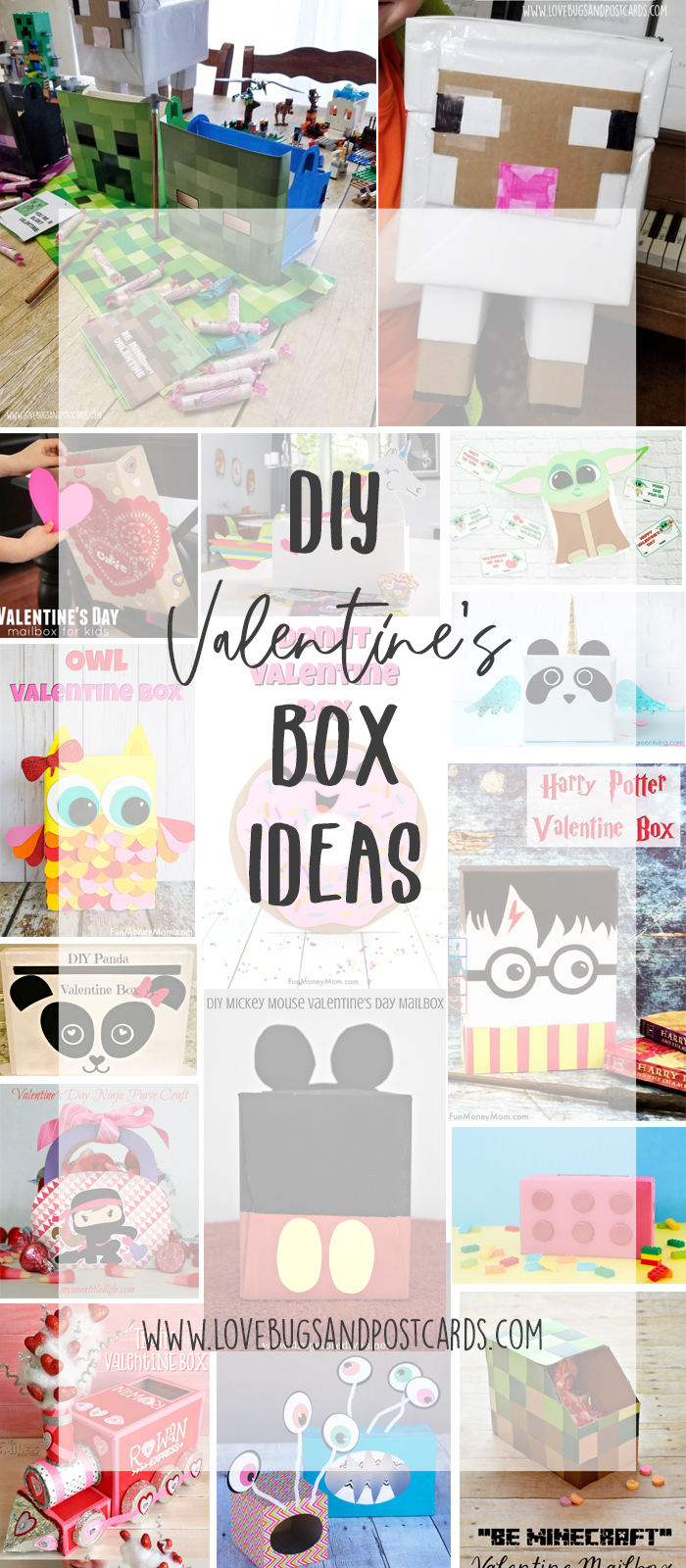 15+ Valentine's Box Ideas