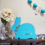 Farmhouse Bunny Sign