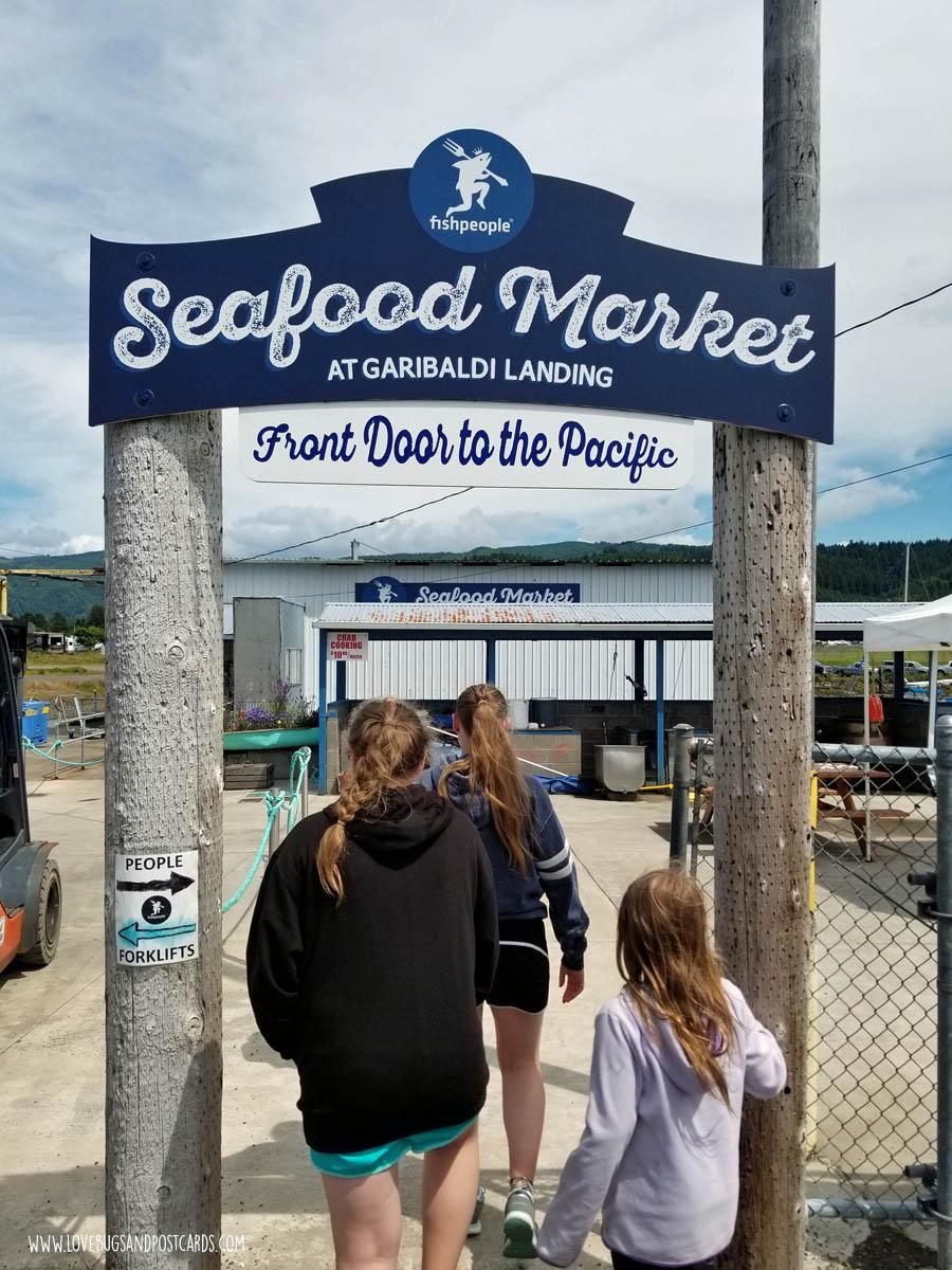 Seafood Market in Oregon - Garibaldi