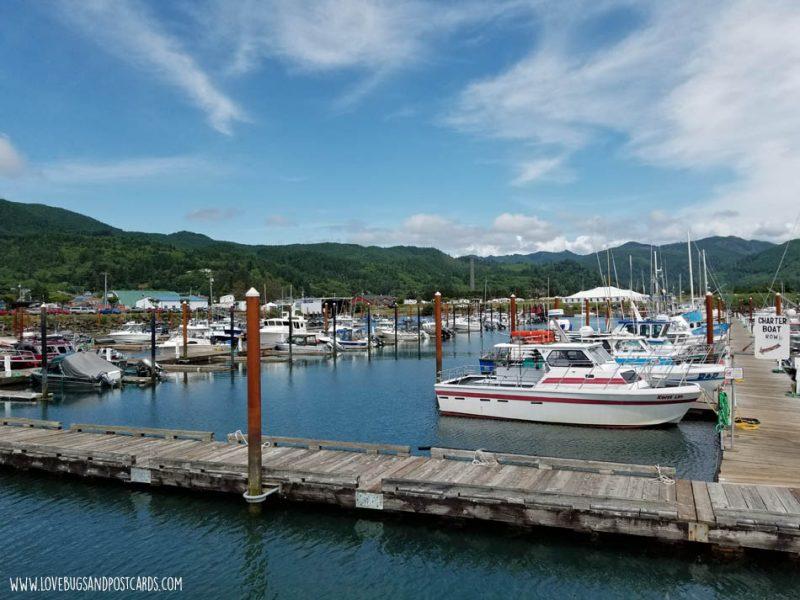 Port of Garibaldi in Oregon