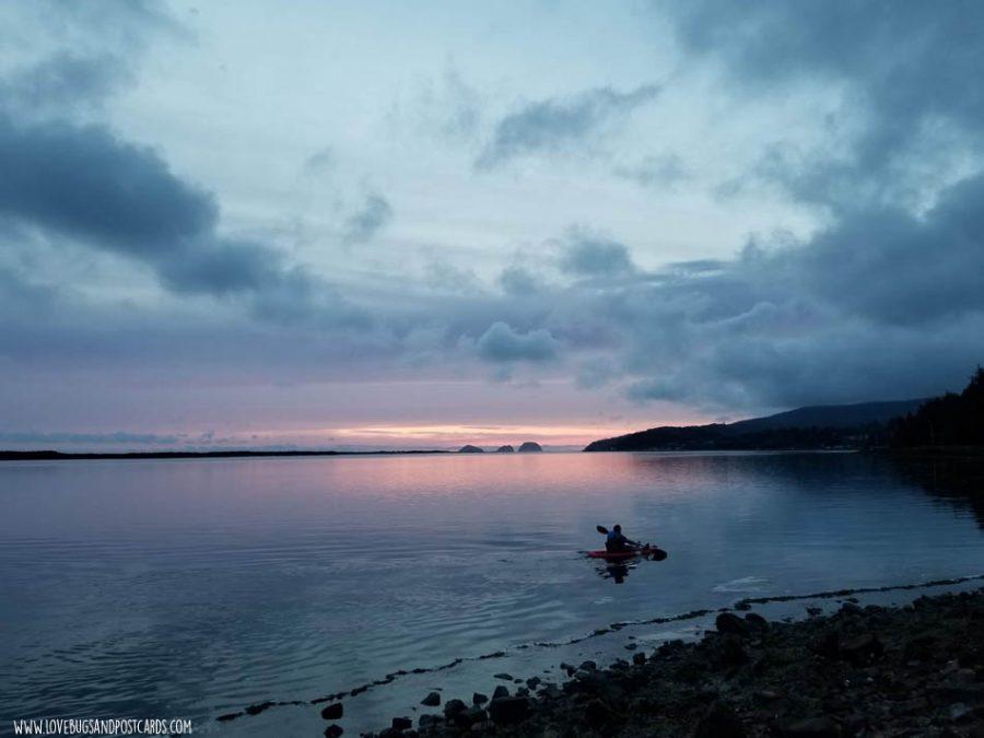 Netarts Bay in Oregon