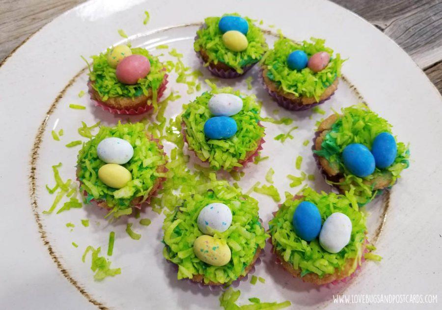 Sugar Cookie Easter Baskets