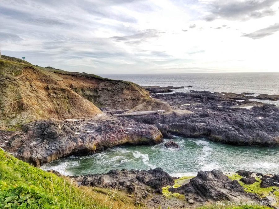 Cape Perpetua (Thor's Well and Spouting Horn)