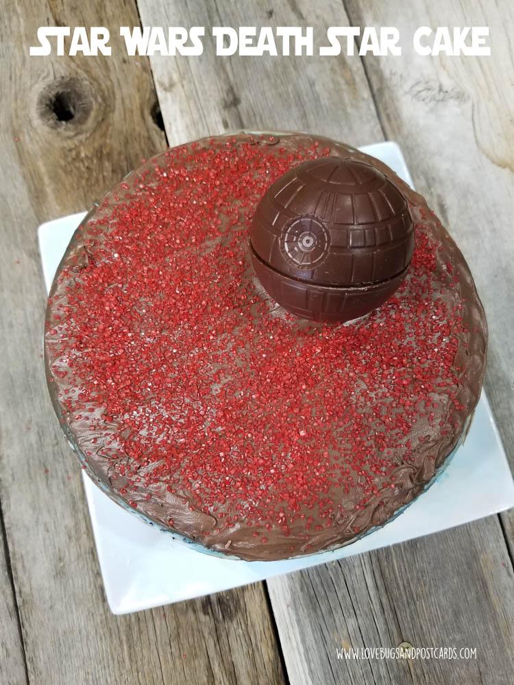 Death Star Cake {Star Wars}