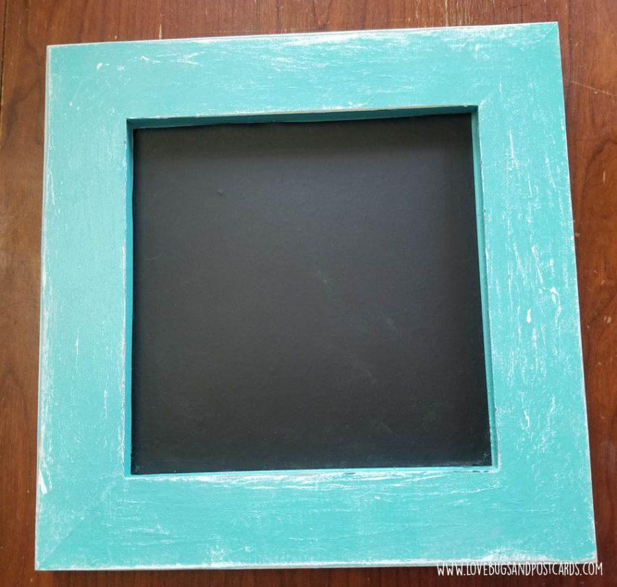Farmhouse Frame Magnetic Chalkboard