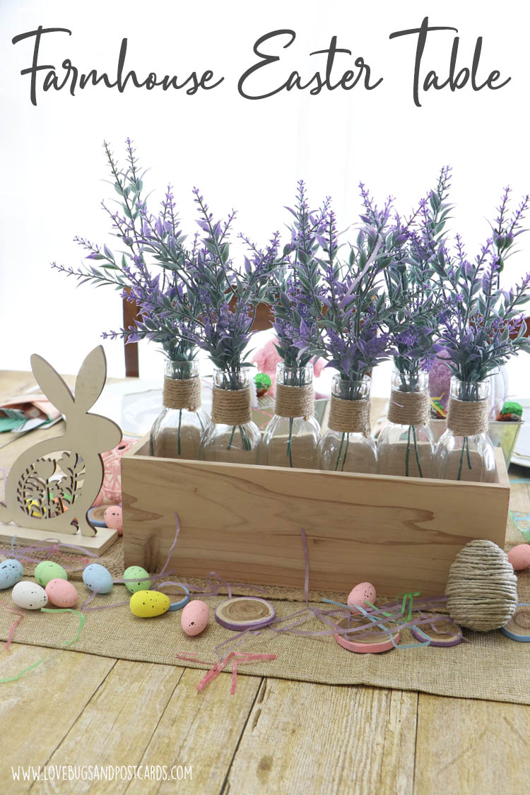 Farmhouse Easter Table Ideas
