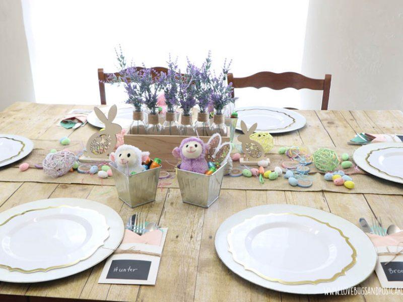 Farmhouse Easter Table Ideas
