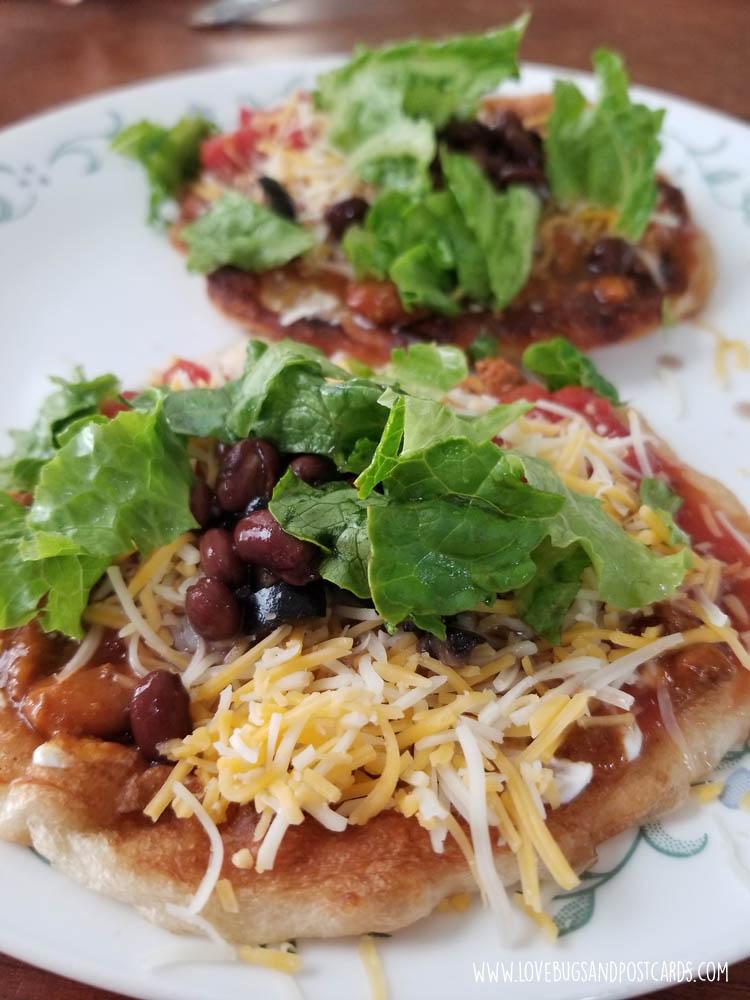 Fry Bread Tacos (Navajo Tacos)