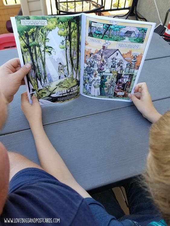 """Pillar of Light"": Joseph Smith's First Vision, a Latter-day Saint Comic Book"