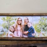 DIY Slat Board Farmhouse Wood Frame
