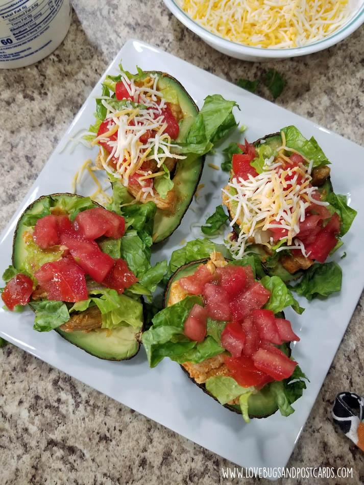 Chicken Taco Avocados Recipe