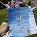 Family Fitness Challenge Printable (Camp Warner Bros. Week 6)