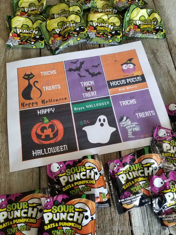 Halloween Candy Printables