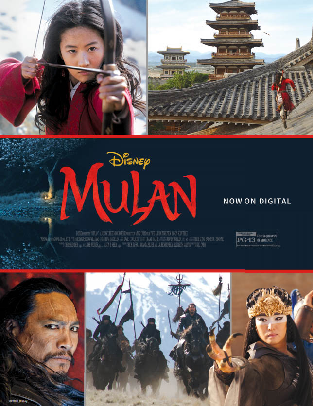 Disney Mulan (live action)