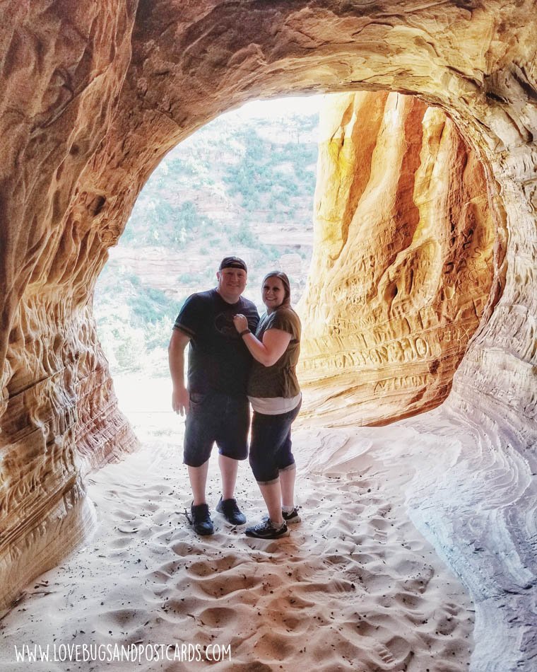 Sand Caves in Kanab, Utah