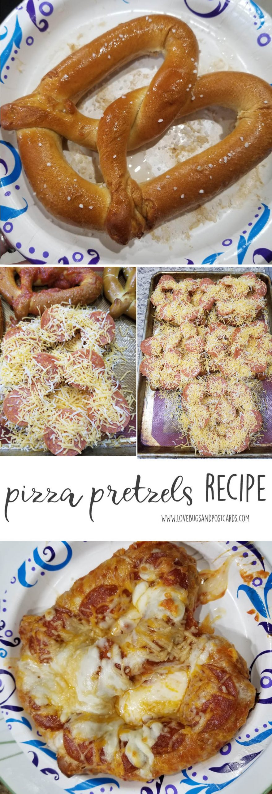 Pizza Pretzels recipe