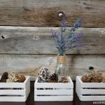 Farmhouse crates decor DIY