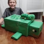 Minecraft Turtle Valentine's Box