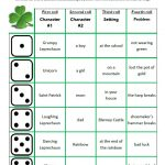 St. Patrick's Roll-A-Story free printable