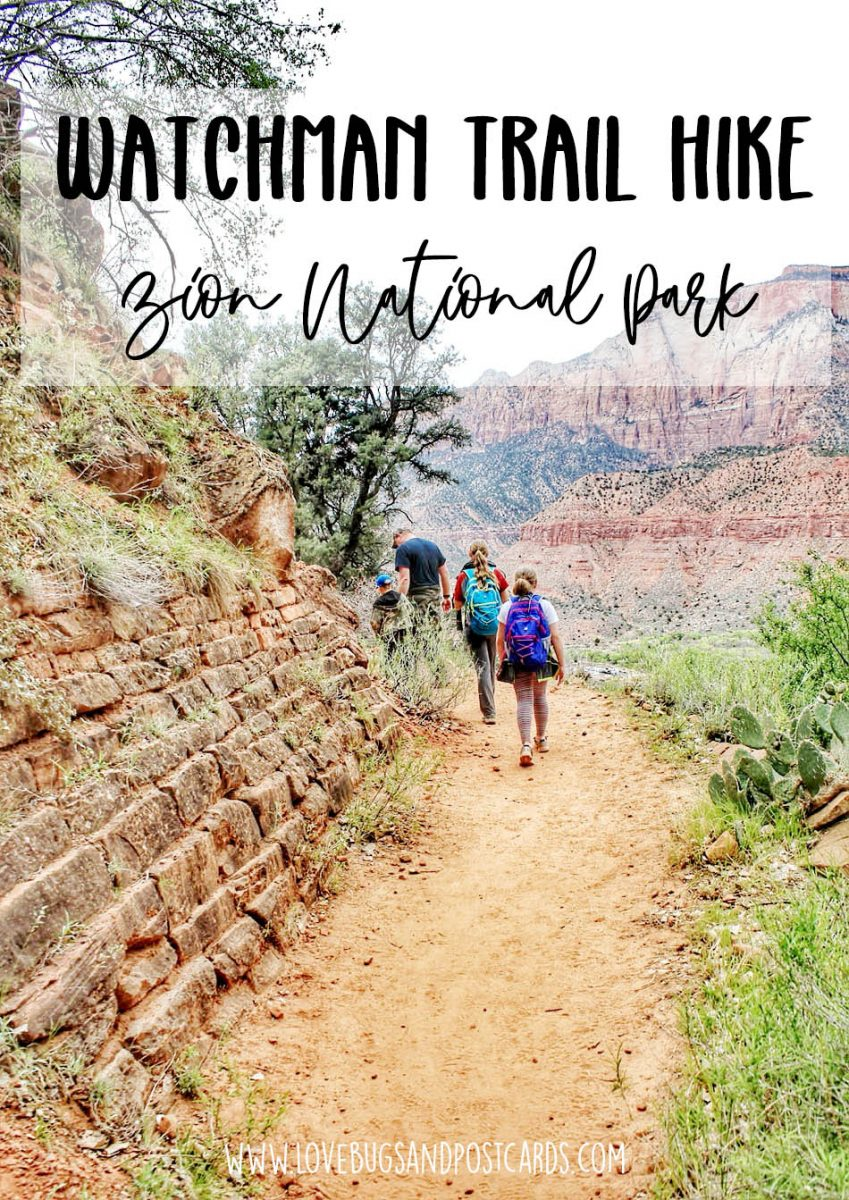 Watchman Trail Hike Zion National Park