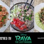 Disney's Raya and the Last Dragon inspired recipes