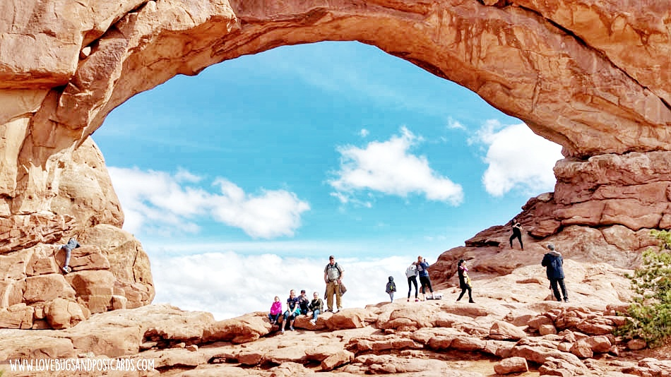 The Windows Arches National Park