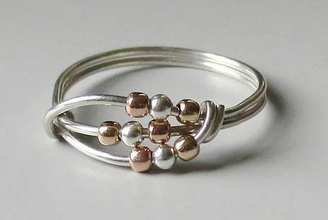 Mother's Day Gift Guide - Fidget ring from Patti + Ricky