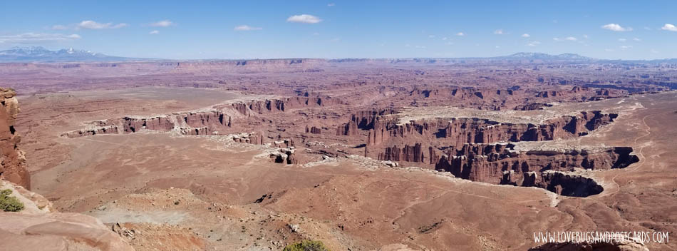 Grand View Point Overlook in Canyonlands National Park - Island in the Sky