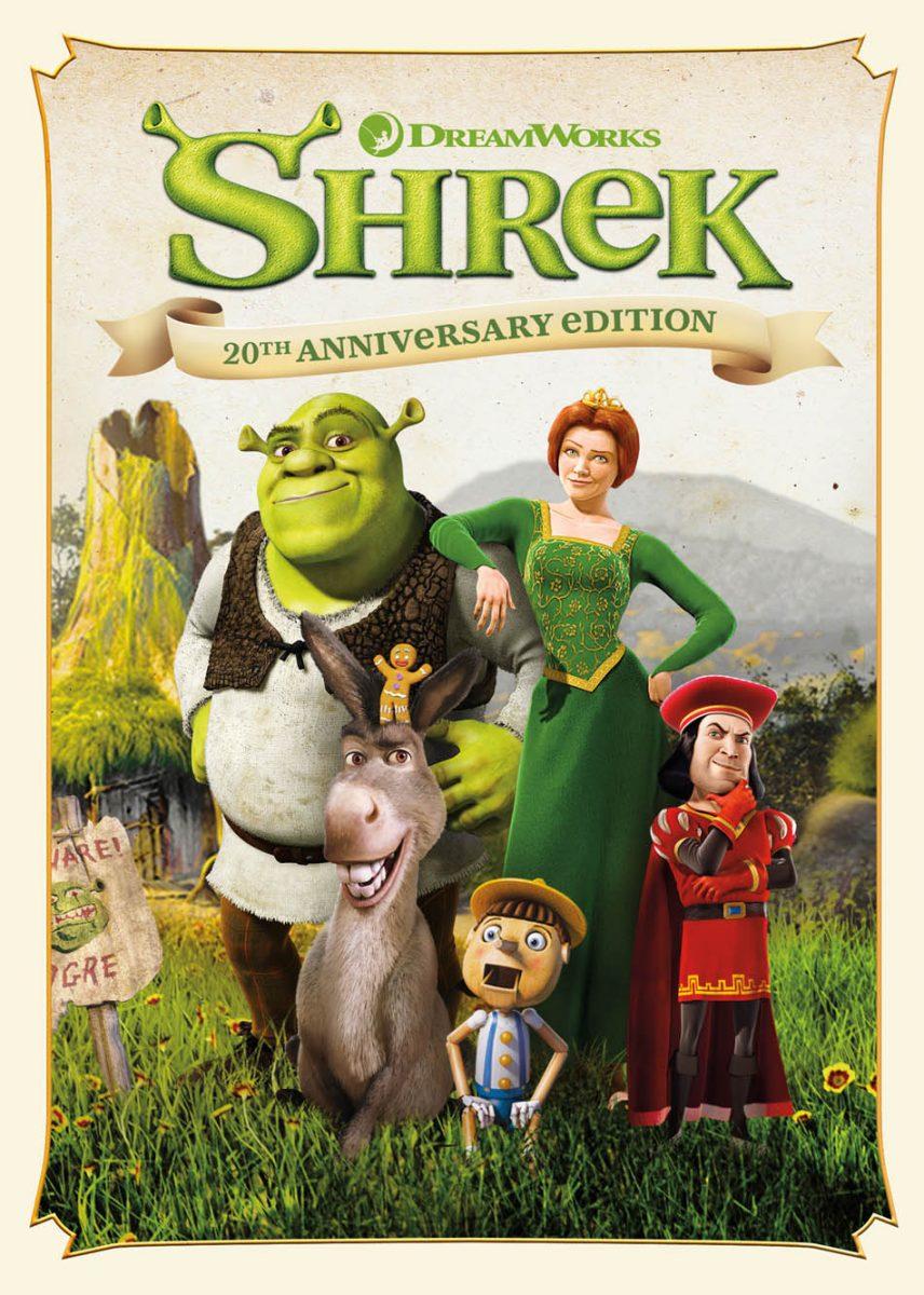 DreamWorks Shrek 20th Anniversary Edition