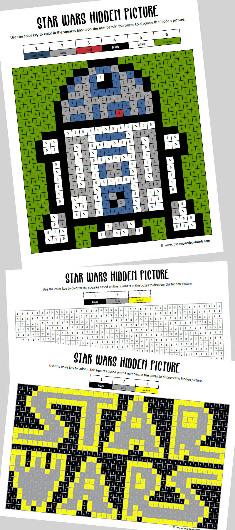 Star Wars Hidden Picture Printables