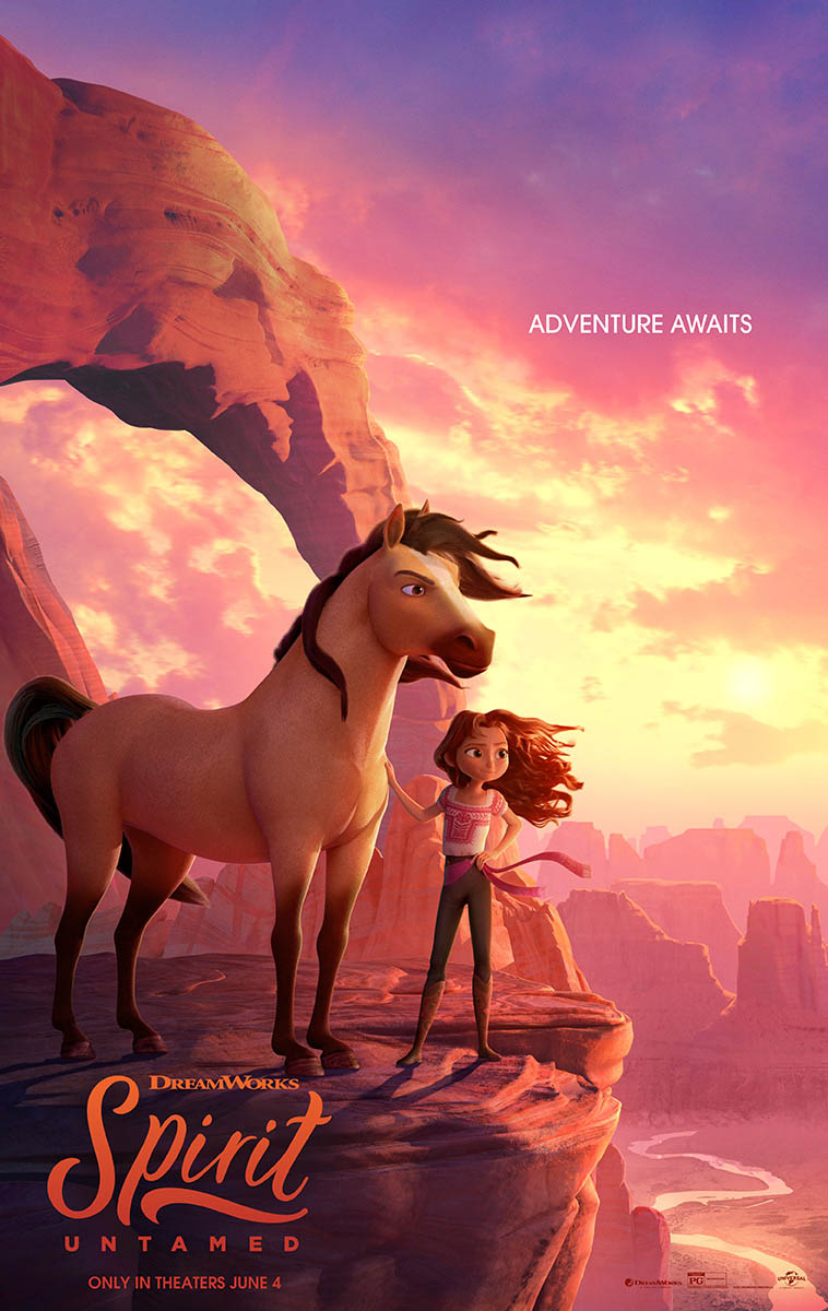 DreamWorks Animation's SPIRIT UNTAMED in theaters this weekend!