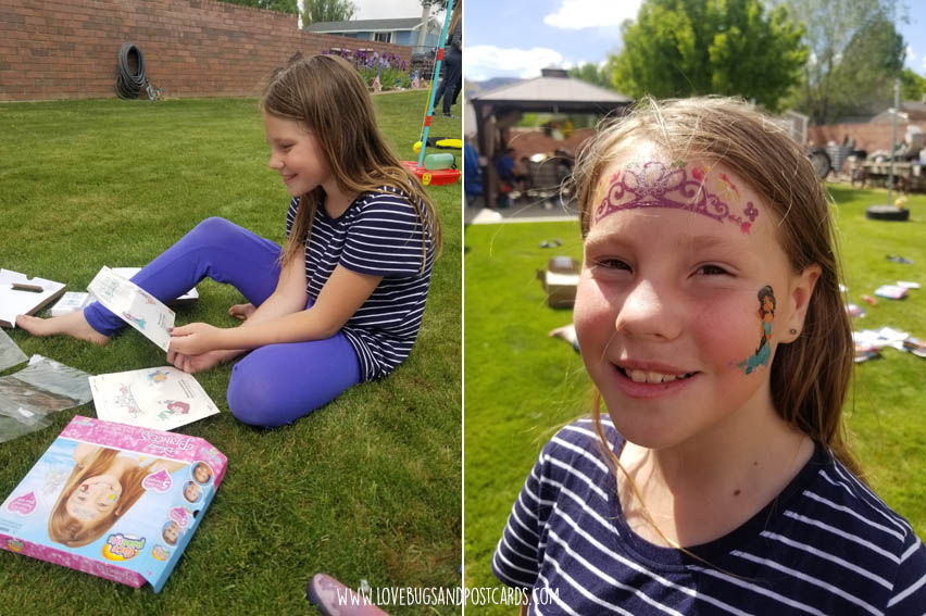 Tech free summer fun with kids  - Face Paintoos