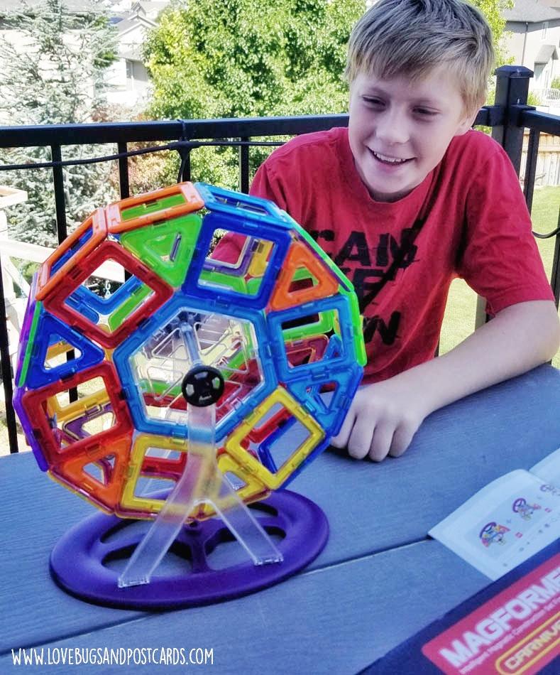 Kids guide for ultimate summer fun - Magformers Carnival Set