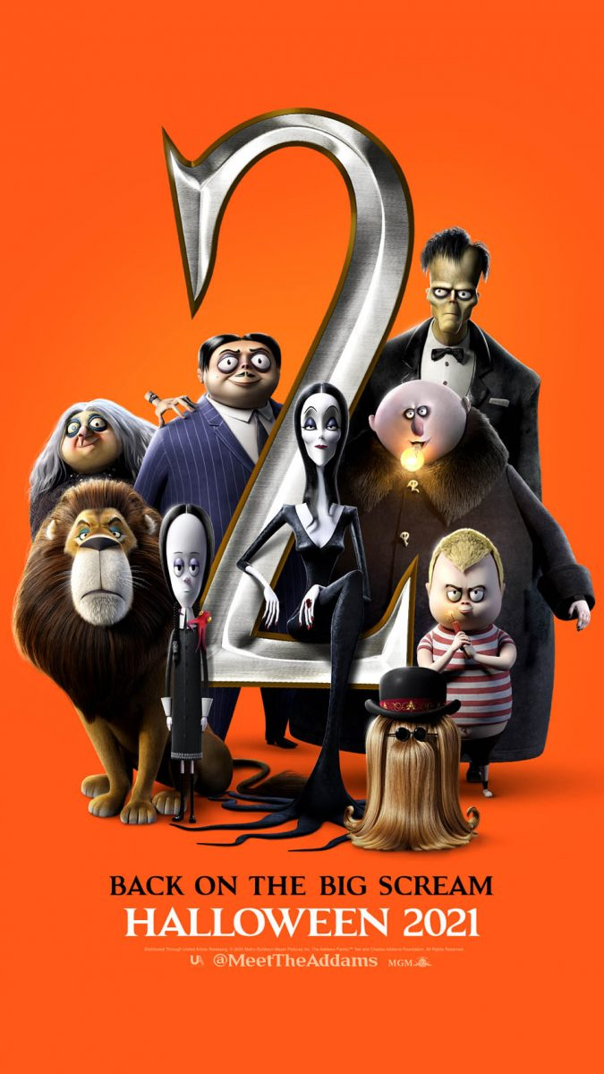 The Addams Family 2 opens in theaters October 1st!